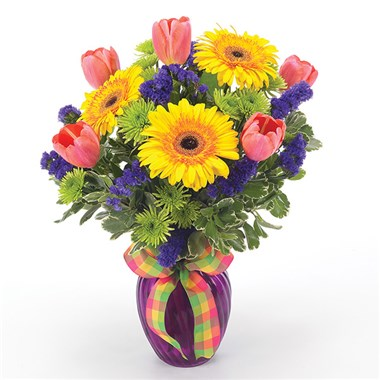 """Oh Happy Day!"" flower bouquet (BF-11K)"